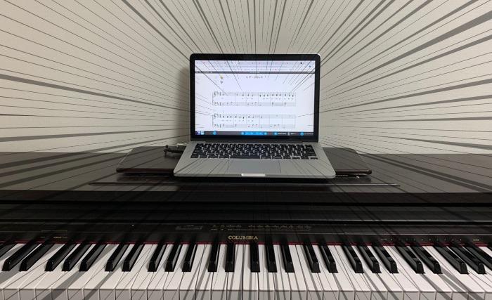 ピアノマーベルの風景