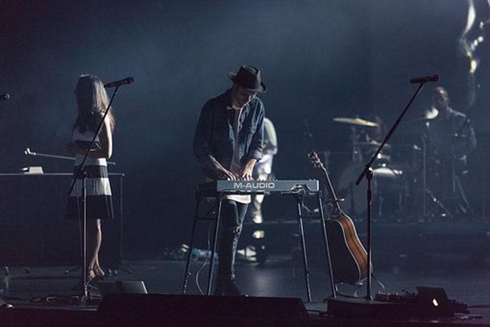 ライブでのキーボード