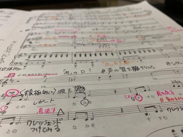 Nコン 楽譜
