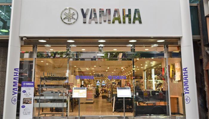 YAMAHAの店舗